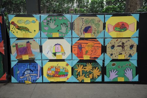丑小鸭双语幼儿园美术作品展