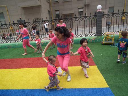 石家庄市桥东区华城威特幼儿园举办亲子游园运动会