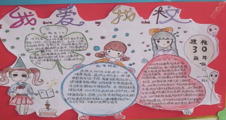 25中校庆30周年系列活动之——初二年级手抄报展图片