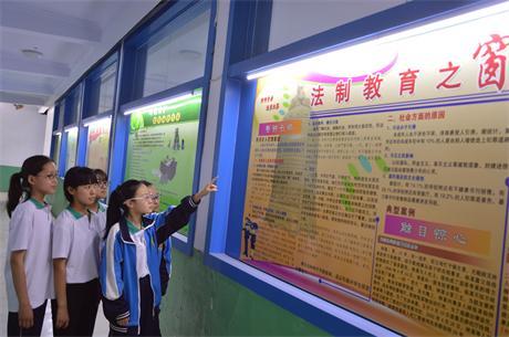 石家庄市藁城区廉州镇第四中学法制教育基地学习图片